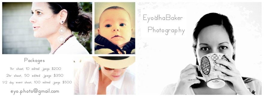 Photography Packages with Eyoalha Baker 2013