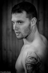 Portrait. Keaton Soros. Photographed by Eyoälha Baker.