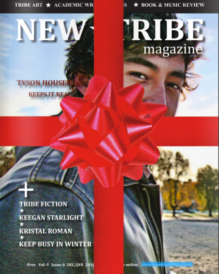 Cover and Editorial shot by Eyoalha baker for New Tribe Magazine 2010