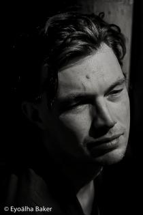 Portrait. Michael Nicholls photographed by Eyoälha Baker