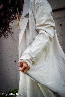 Designer: Sofia Fiorentino Model: Jonathan Schoonderbeek Photographer: Eyoalha Baker