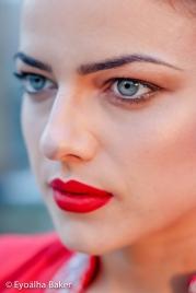 Designer: Suman Faulkner Model: Ana-Maria Butcura Hair: Christine Michelle MakeUp: Je T'aime Photographer: Eyoalha Baker