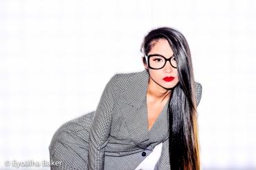 Designer: Jules Francisco Model: Taylor Thurston Hair: Christine Michelle MakeUp: Je T'aime Photographer: Eyoalha Baker