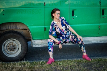 Playful creative photo shoot with model Samantha Parsons Hair / Makeup Alyssa Comtois Photography Eyoälha Baker Photography