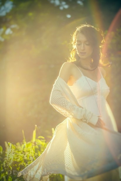 Dreamy Creative Shoot with Model Sam Parsons and MU/Hair by Alyssa Comtois, photography Eyoalha Baker