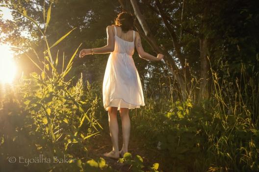 Dreamy Creative Shoot with Model Sam Parsons and MU/Hair by Alyssa Comtois, photography Eyoalha Baker